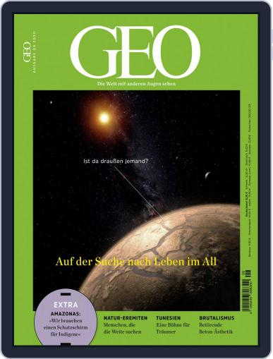 GEO September 1st, 2020 Digital Back Issue Cover