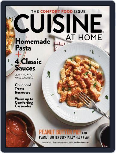 Cuisine at home (Digital) September 1st, 2020 Issue Cover