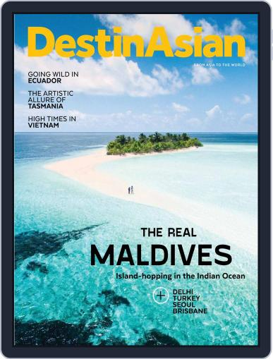 DestinAsian (Digital) August 1st, 2019 Issue Cover