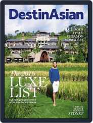 DestinAsian (Digital) Subscription December 1st, 2016 Issue