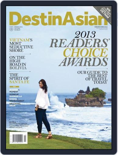 DestinAsian February 4th, 2013 Digital Back Issue Cover