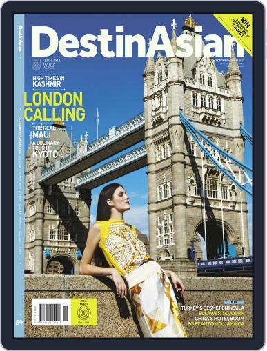 DestinAsian October 4th, 2011 Digital Back Issue Cover