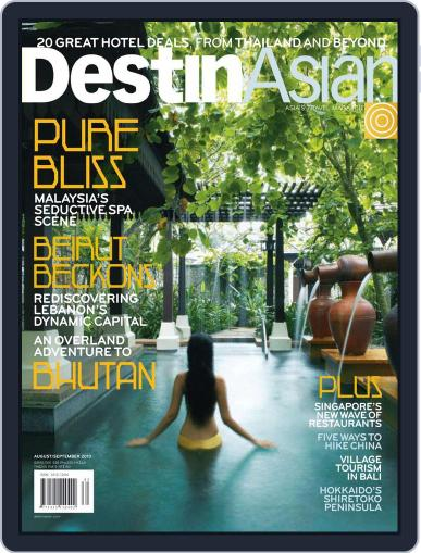 DestinAsian July 29th, 2010 Digital Back Issue Cover