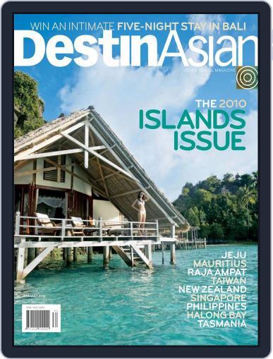 DestinAsian June 1st, 2010 Digital Back Issue Cover