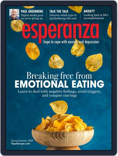 esperanza Magazine for Anxiety & Depression August 1st, 2020 Digital Back Issue Cover