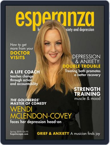 esperanza Magazine for Anxiety & Depression April 1st, 2019 Digital Back Issue Cover