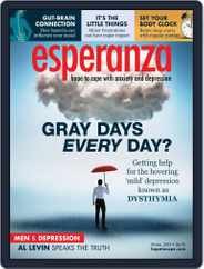 esperanza Magazine for Anxiety & Depression (Digital) Subscription January 1st, 2019 Issue