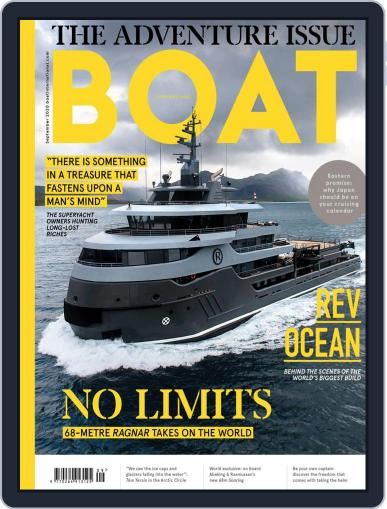 Boat International (Digital) September 1st, 2020 Issue Cover
