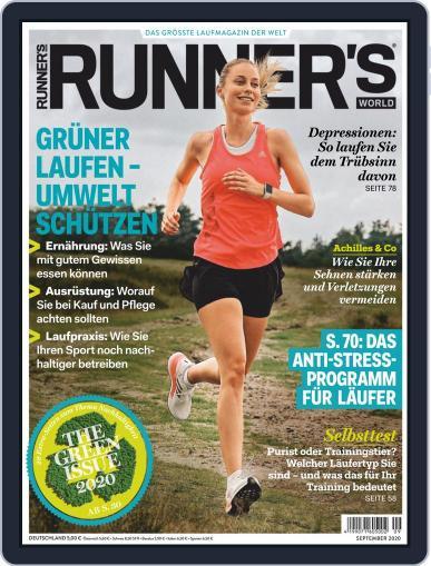 Runner's World Deutschland September 1st, 2020 Digital Back Issue Cover