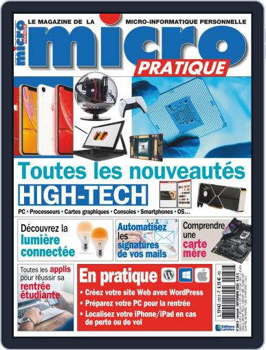Micro Pratique (Digital) September 1st, 2020 Issue Cover
