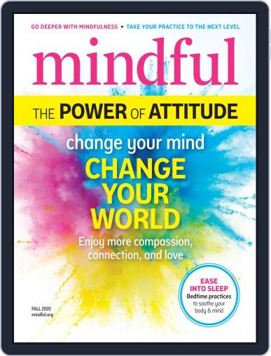 Mindful August 10th, 2020 Digital Back Issue Cover