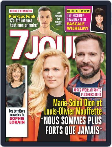 7 Jours (Digital) August 21st, 2020 Issue Cover