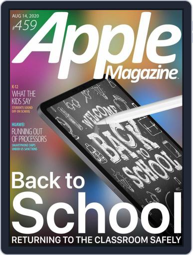 AppleMagazine August 14th, 2020 Digital Back Issue Cover