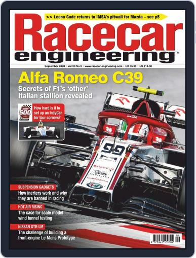Racecar Engineering (Digital) September 1st, 2020 Issue Cover