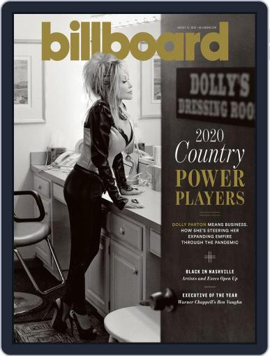 Billboard (Digital) August 15th, 2020 Issue Cover