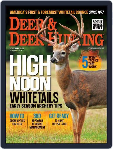 Deer & Deer Hunting September 1st, 2020 Digital Back Issue Cover