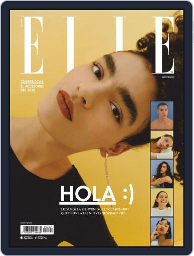 Elle México (Digital) August 1st, 2020 Issue Cover