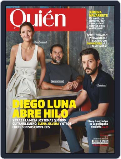 Quién (Digital) August 1st, 2020 Issue Cover