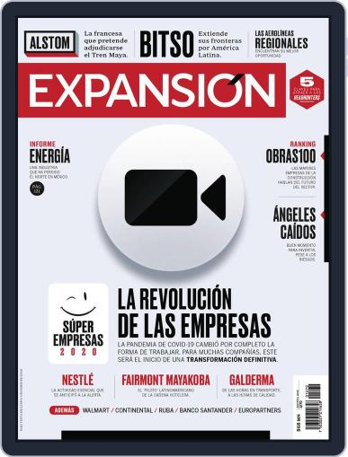Expansión (Digital) August 1st, 2020 Issue Cover