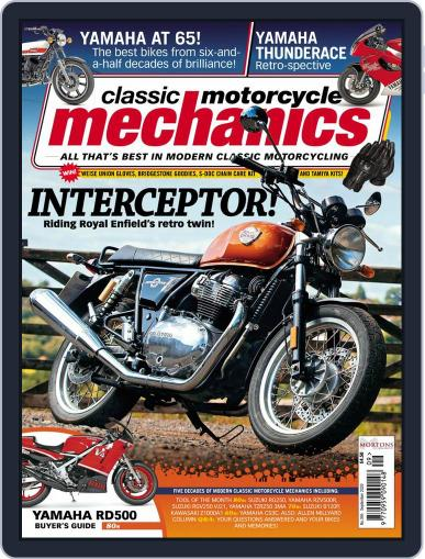 Classic Motorcycle Mechanics September 1st, 2020 Digital Back Issue Cover