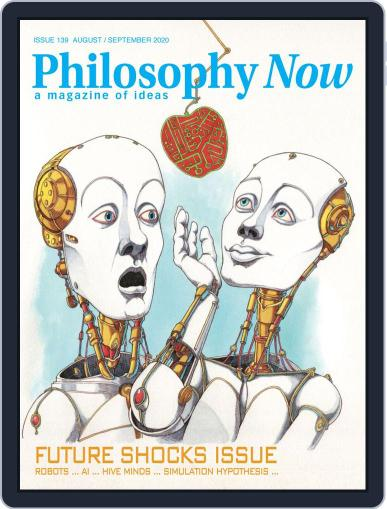 Philosophy Now August 1st, 2020 Digital Back Issue Cover