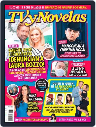 TV y Novelas México (Digital) August 17th, 2020 Issue Cover