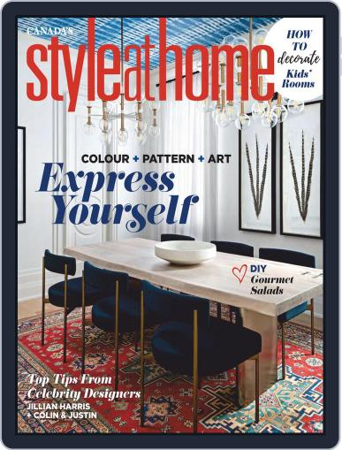 Style At Home Canada (Digital) September 1st, 2020 Issue Cover