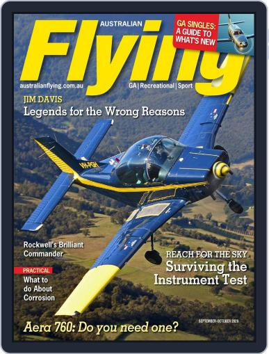 Australian Flying (Digital) September 1st, 2020 Issue Cover