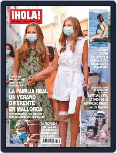 Hola (Digital) August 19th, 2020 Issue Cover