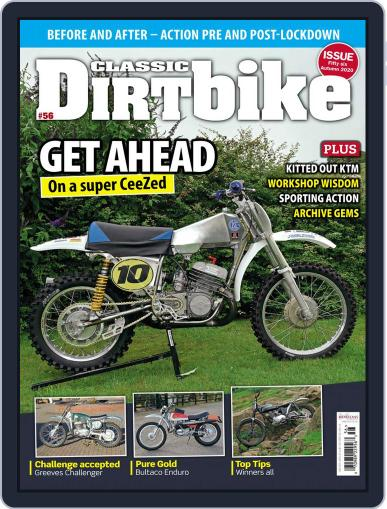 Classic Dirt Bike August 1st, 2020 Digital Back Issue Cover