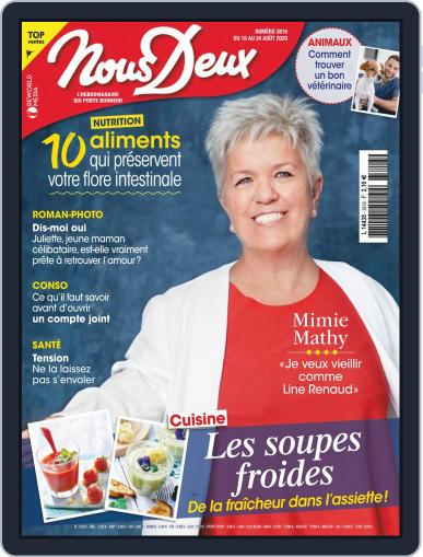 Nous Deux August 18th, 2020 Digital Back Issue Cover