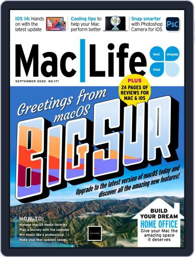 MacLife September 1st, 2020 Digital Back Issue Cover