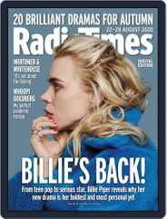 Radio Times (Digital) Subscription August 22nd, 2020 Issue