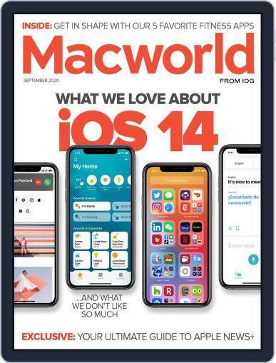 Macworld September 1st, 2020 Digital Back Issue Cover