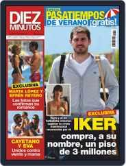 Diez Minutos (Digital) Subscription August 26th, 2020 Issue