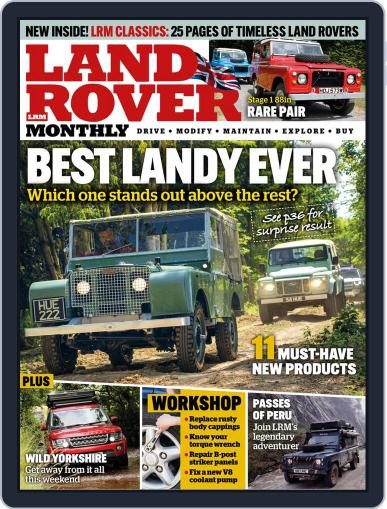 Land Rover Monthly October 1st, 2020 Digital Back Issue Cover