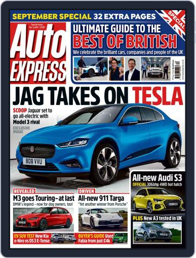 Auto Express (Digital) August 19th, 2020 Issue Cover