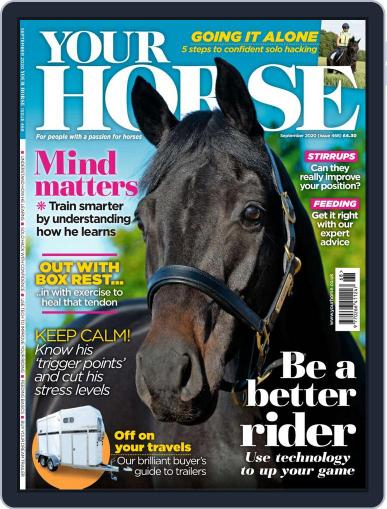 Your Horse (Digital) September 1st, 2020 Issue Cover