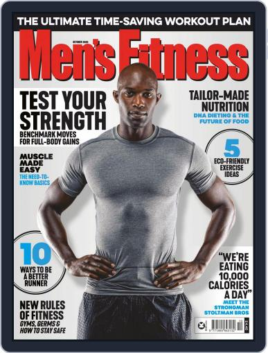 Men's Fitness UK (Digital) October 1st, 2020 Issue Cover