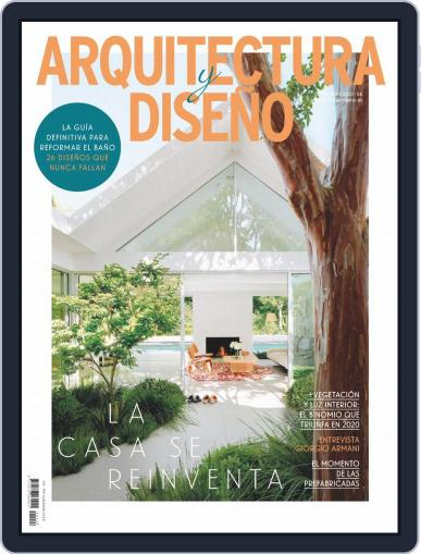 Arquitectura Y Diseño September 1st, 2020 Digital Back Issue Cover