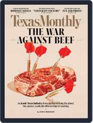 Texas Monthly (Digital) Subscription September 1st, 2020 Issue