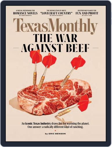 Texas Monthly (Digital) September 1st, 2020 Issue Cover