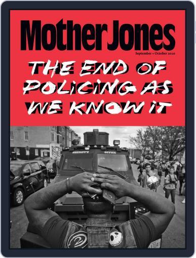 Mother Jones (Digital) September 1st, 2020 Issue Cover