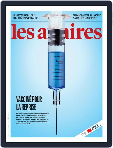 Les Affaires (Digital) August 1st, 2020 Issue Cover