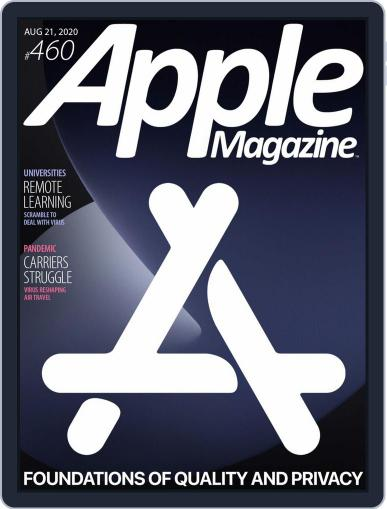 AppleMagazine August 21st, 2020 Digital Back Issue Cover