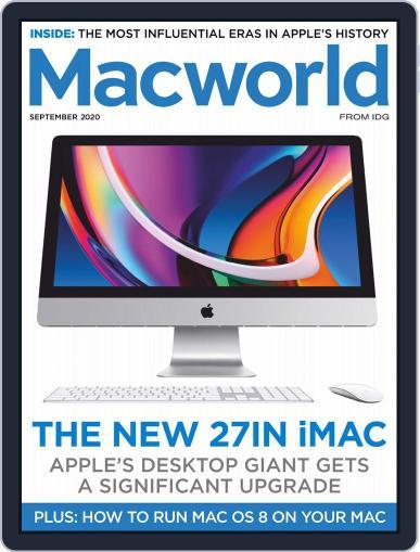 Macworld UK September 1st, 2020 Digital Back Issue Cover
