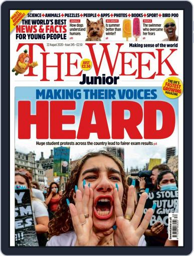 The Week Junior (Digital) August 22nd, 2020 Issue Cover