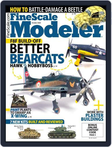 FineScale Modeler (Digital) October 1st, 2020 Issue Cover