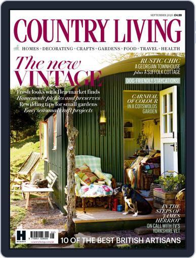 Country Living UK September 1st, 2020 Digital Back Issue Cover