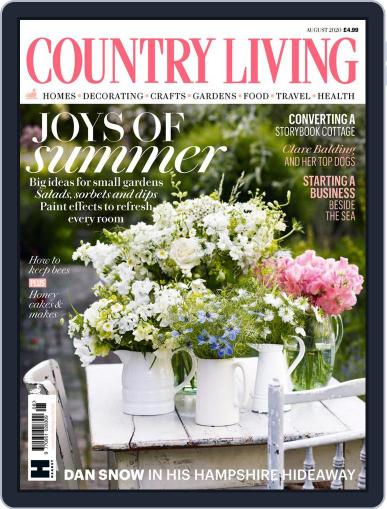 Country Living UK August 1st, 2020 Digital Back Issue Cover